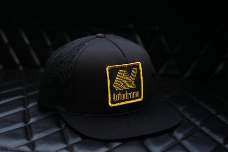 The Autodromo Hat - Tabac Logo Version Front