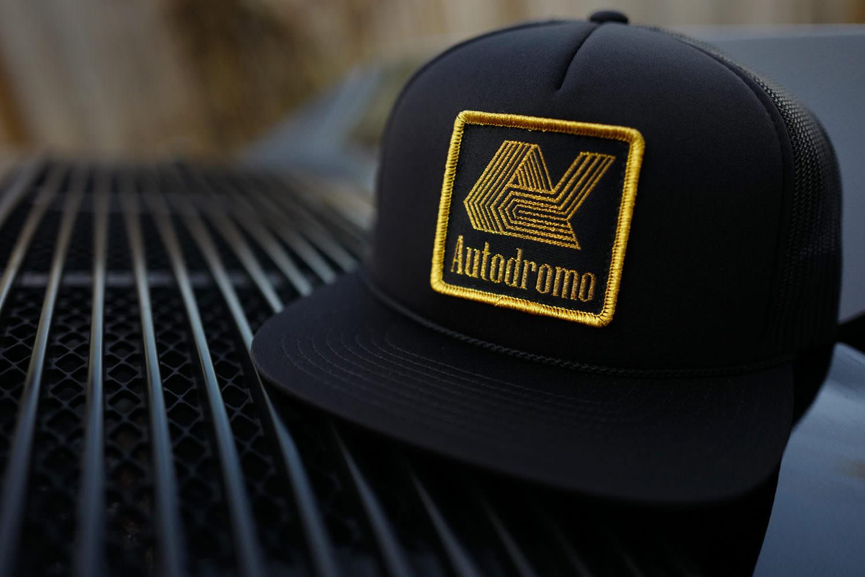 The Autodromo Hat - Tabac Logo Version