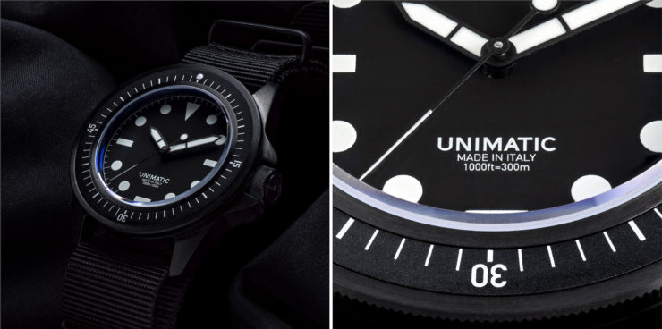 Unimatic U1-FN – A Minimalist Italian-Made Automatic Military Watch – $725 USD