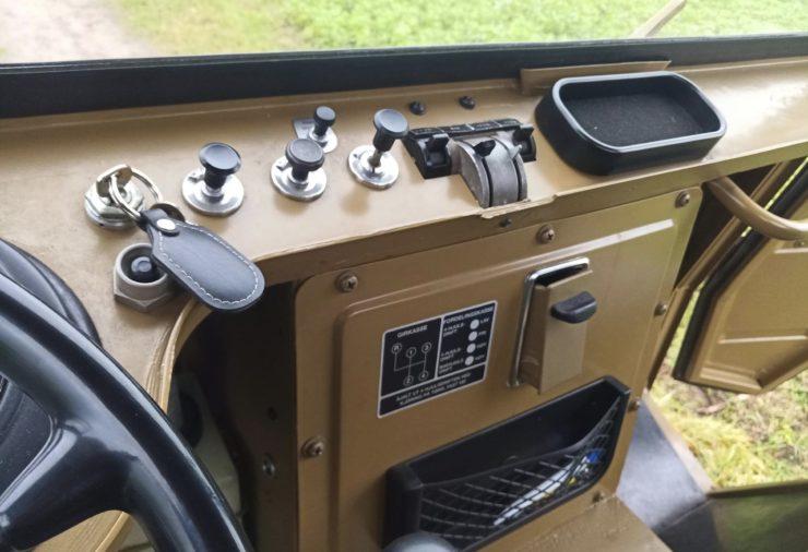 Volvo L3314 Laplander 4x4 Dashboard