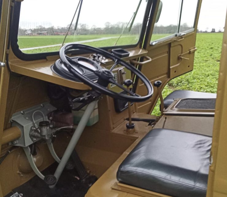 Volvo L3314 Laplander 4x4 Interior
