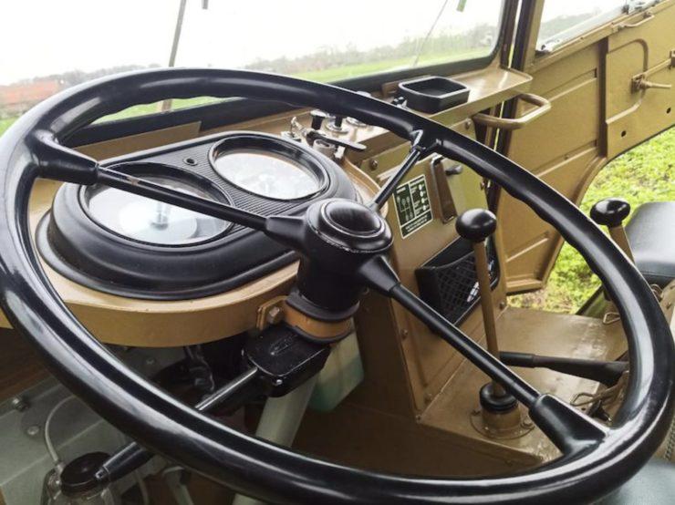 Volvo L3314 Laplander 4x4 Steering Wheel