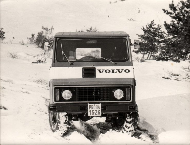 Sweden's Answer To The Unimog – The Volvo L3314 Laplander 4×4