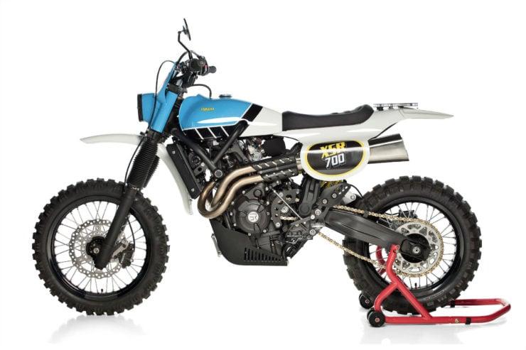 Yamaha XSR700 TT Custom 6