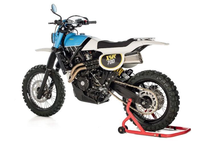 Yamaha XSR700 TT Custom 9