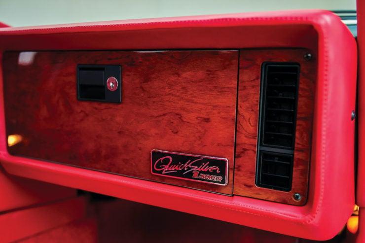 Zimmer Quicksilver Glove Compartment