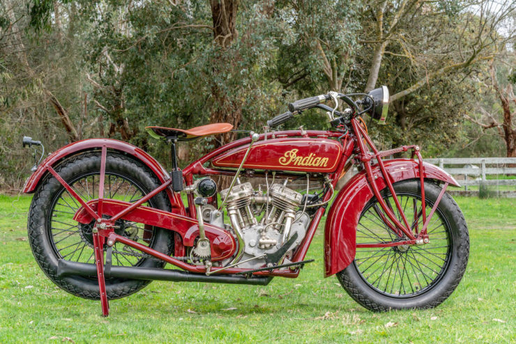 Indian Scout Police Special