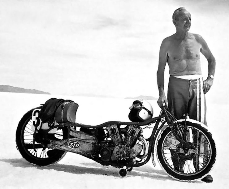 Burt Munro fastest Indian Scout motorcycle