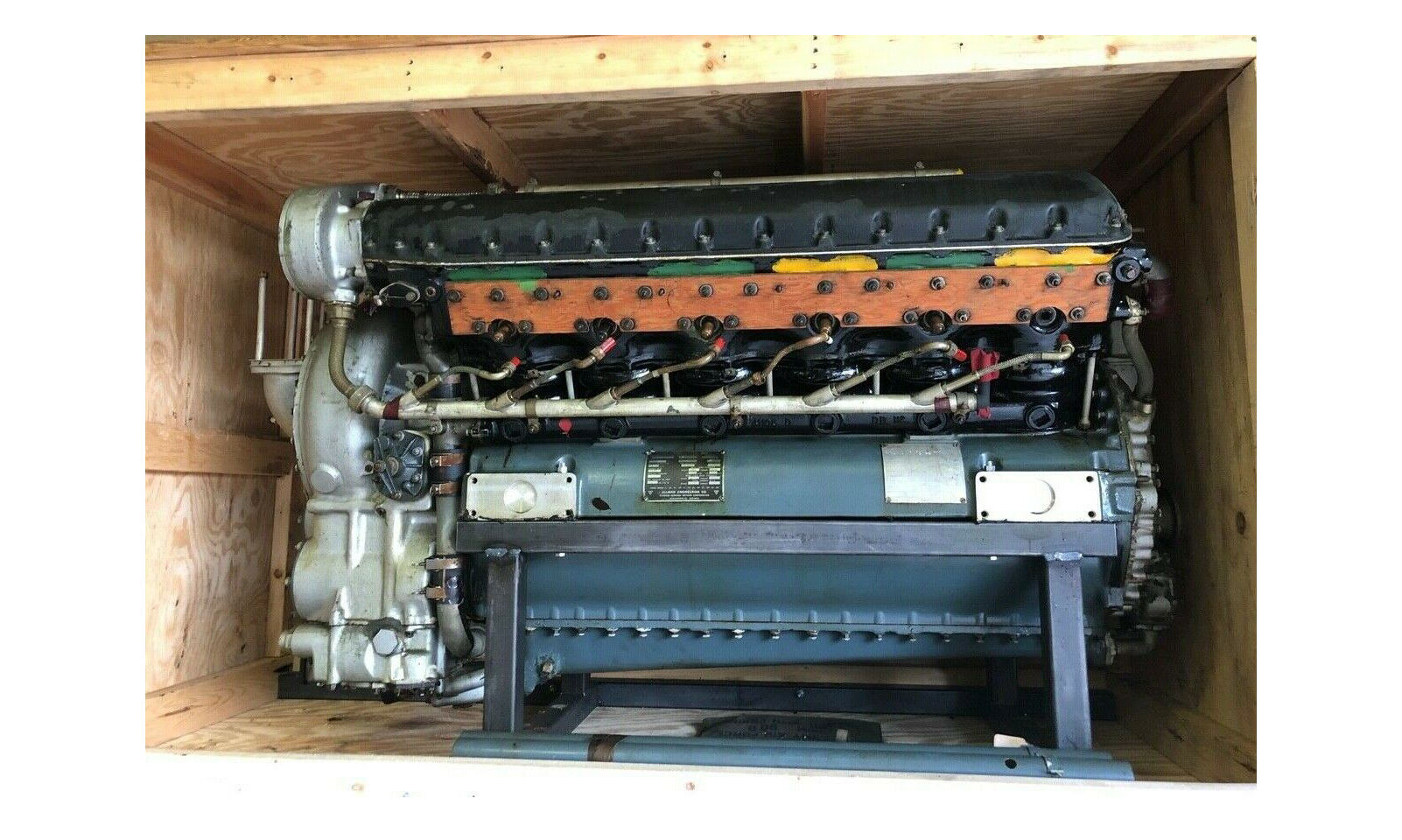 There's An 28 Litre, 1,100+ HP Allison V12 Aero Engine For Sale On eBay
