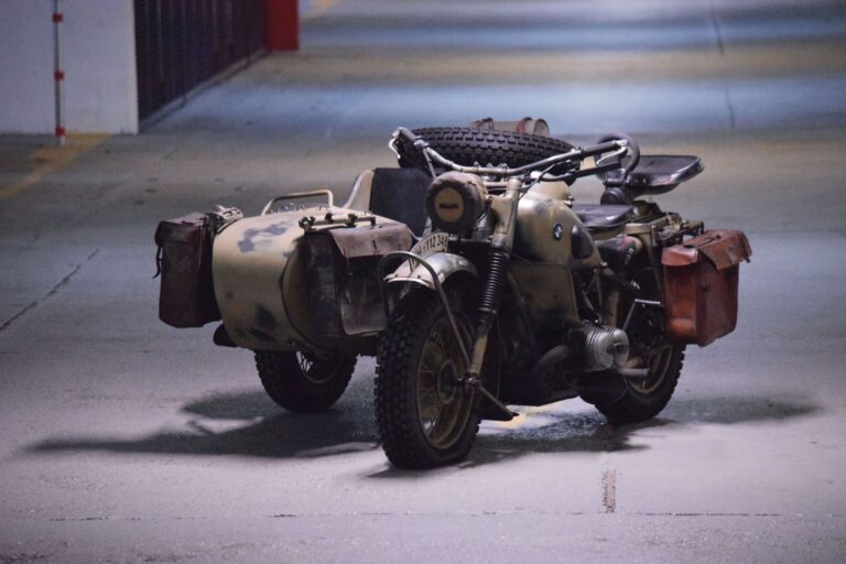 An Original WW2 Wehrmacht Veteran - A 1943 BMW R75 With Sidecar