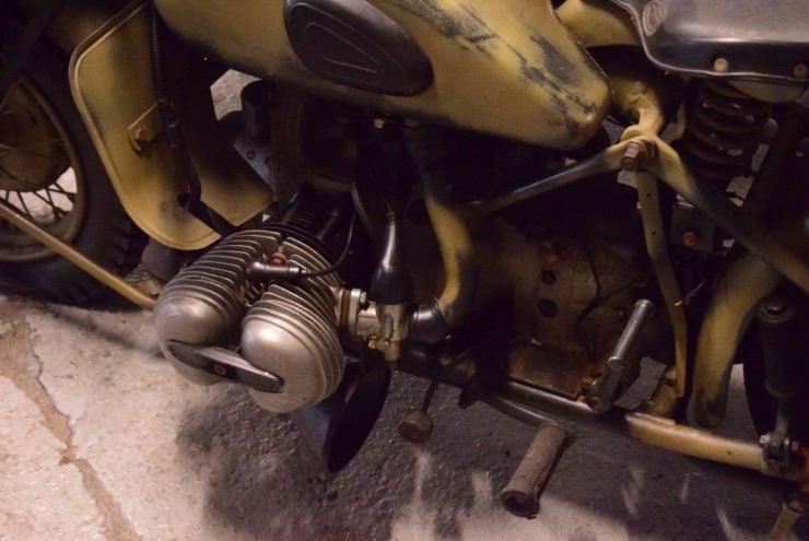 BMW R75 Sidecar Heads