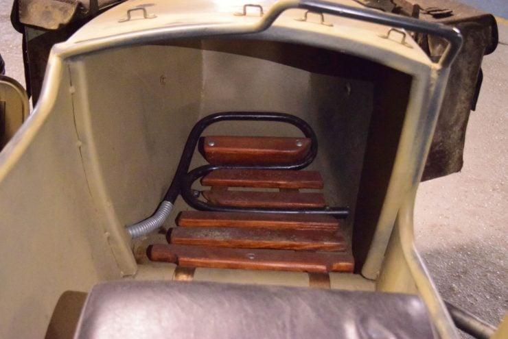 BMW R75 Sidecar Sidecar Heater