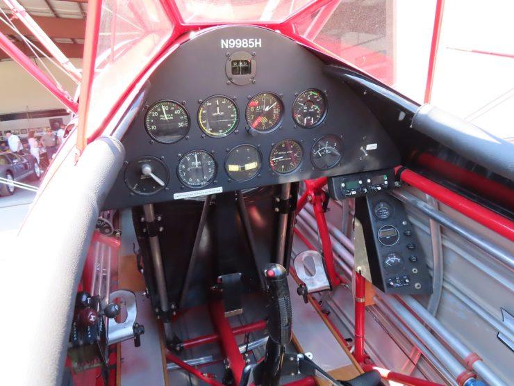 Boeing Stearman Cockpit 2