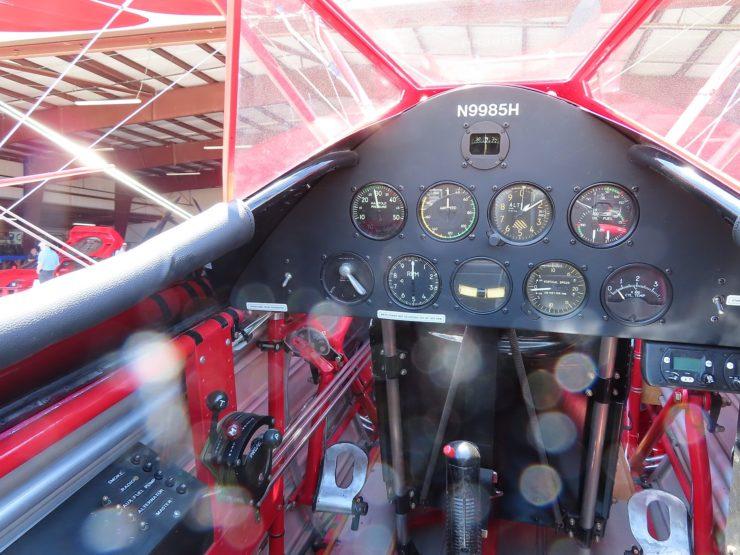 Boeing Stearman Cockpit 4