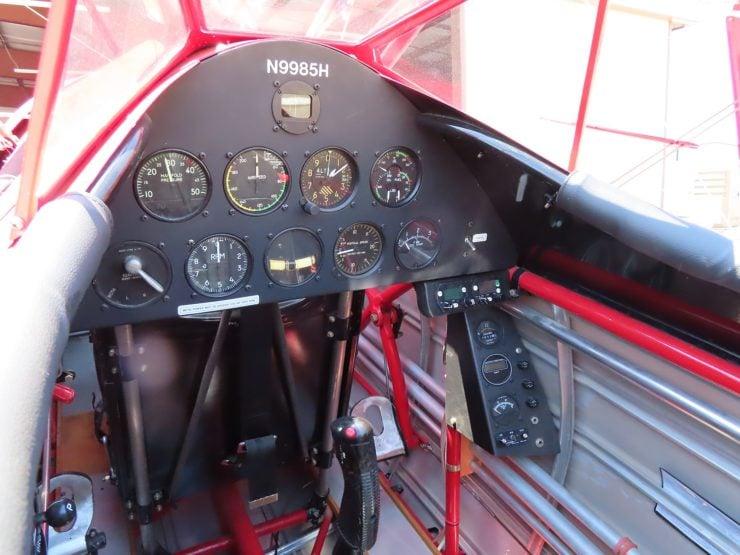 Boeing Stearman Cockpit