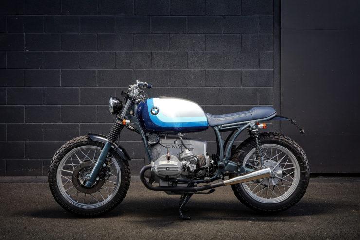 Custom BMW R100RT Side