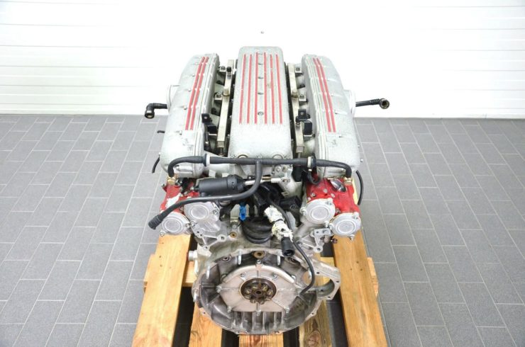 Ferrari 575M V12 Engine Back