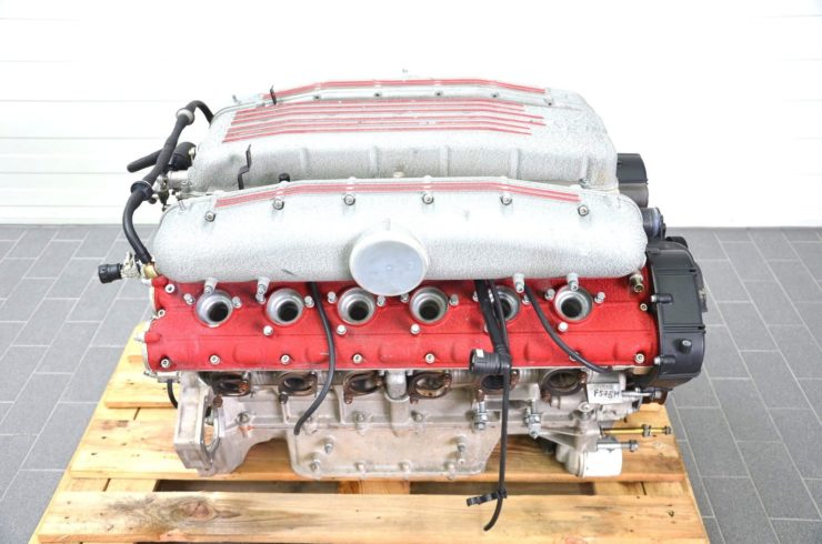 Ferrari 575M V12 Engine Side