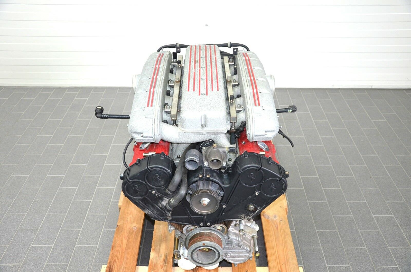 Ferrari 575M V12 Engine