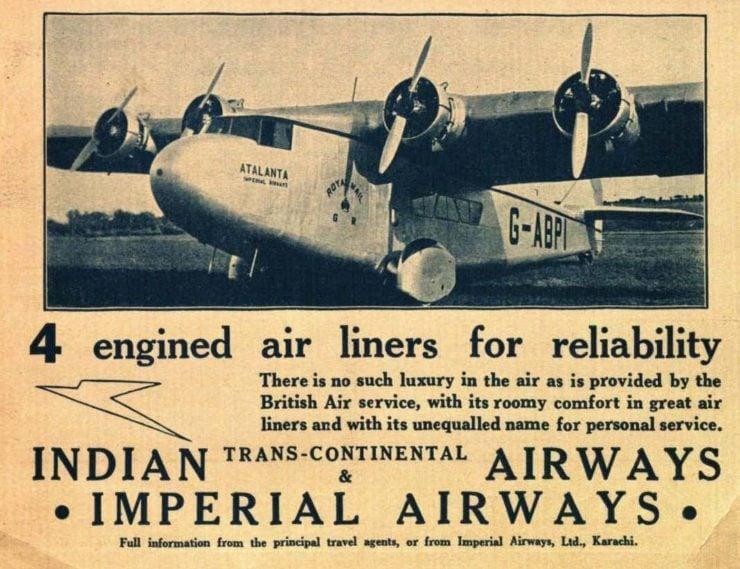 Flying Boat Ad