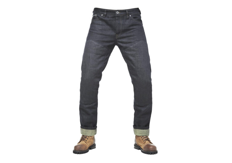 Fuel Greasy Selvedge Motorcycle Pants - Selvedge Denim Woven With Aramid Fibres