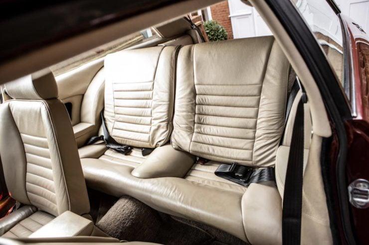 Jaguar XJS Back Seats