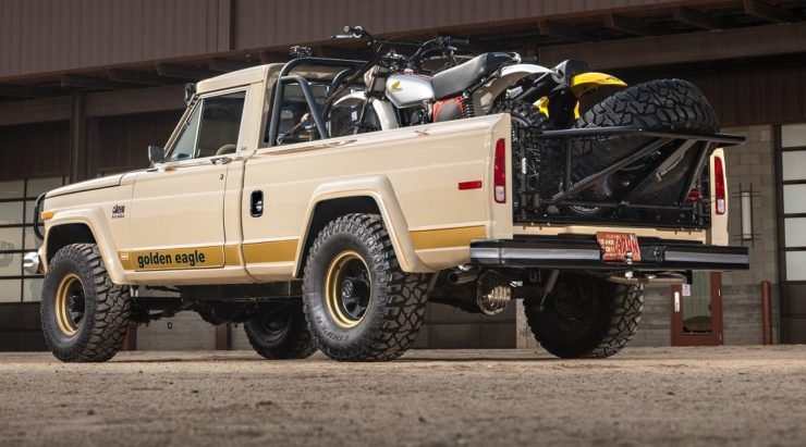 Jeep J10 Golden Eagle Pickup Back