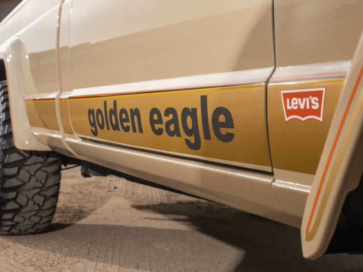 Jeep J10 Golden Eagle Pickup Decal