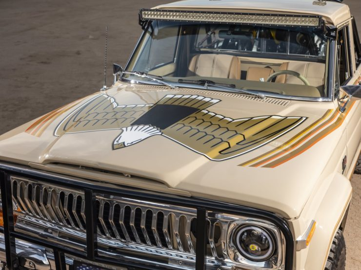 Jeep J10 Golden Eagle Pickup Hood