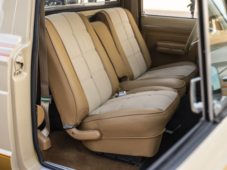 Jeep J10 Golden Eagle Pickup Seats