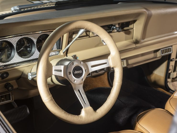 Jeep J10 Golden Eagle Pickup Steering Wheel