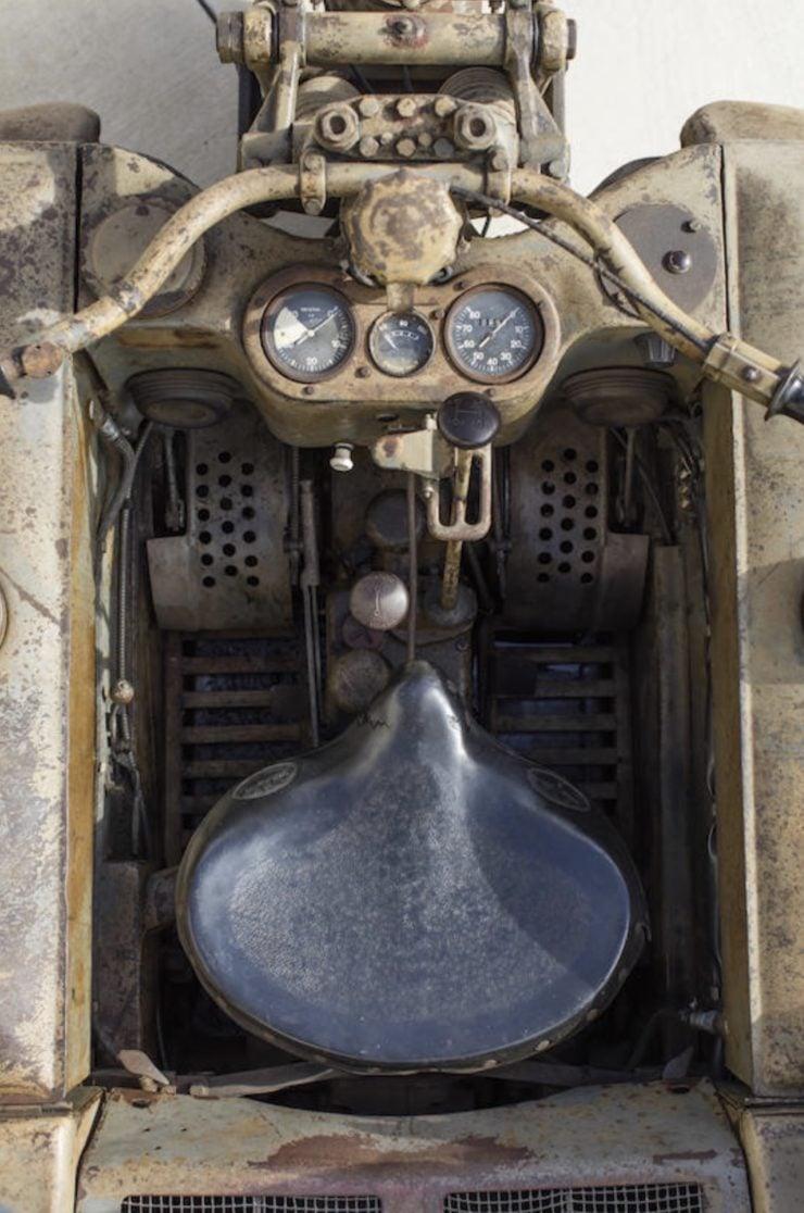 Kettenkrad - NSU Sd. Kfz. 2 Controls