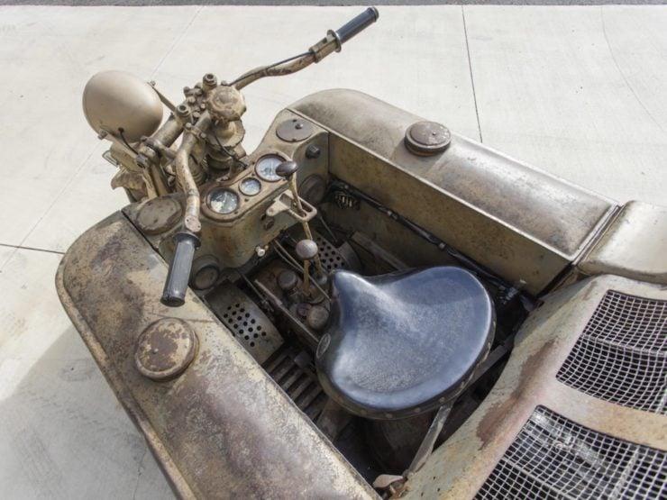Kettenkrad - NSU Sd. Kfz. 2 Driver Seat