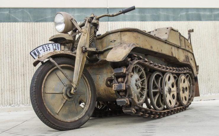 Kettenkrad - NSU Sd. Kfz. 2 Front Wheel