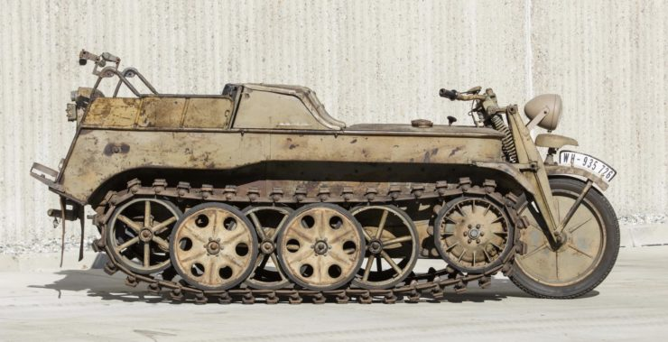 Kettenkrad - NSU Sd. Kfz. 2 Side