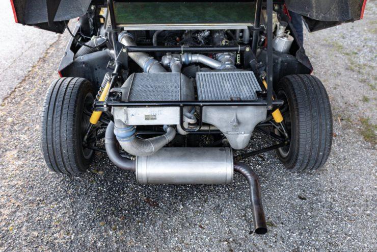 Lancia Delta S4 Stradale Engine
