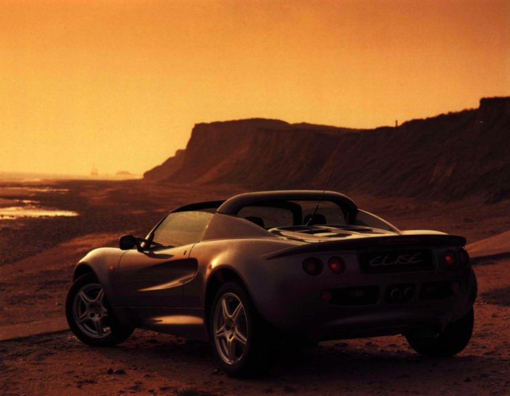 Lotus Elise Series 1 Back