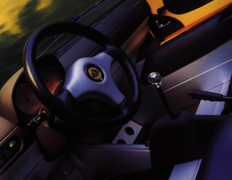 Lotus Elise Series 1 Interior