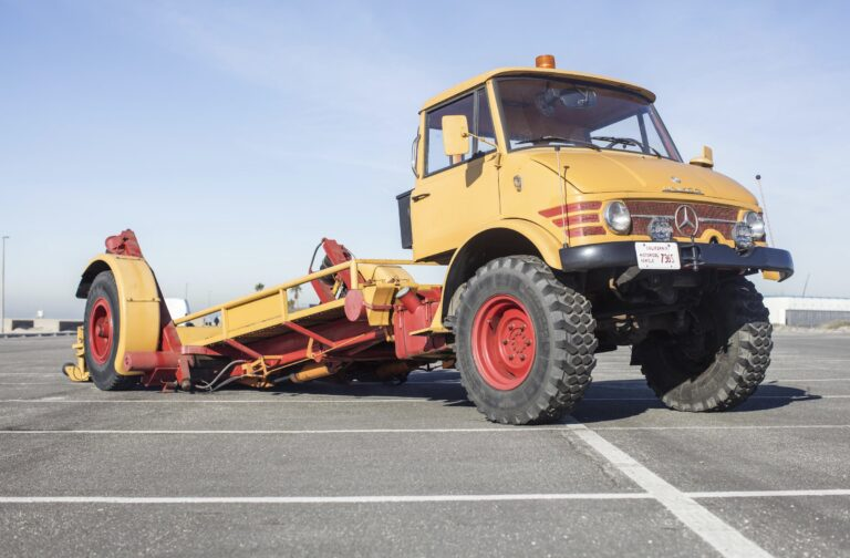 Mercedes-Benz Ruthmann Unimog - The Greatest Race Car Hauler For Sale On Earth Right Now