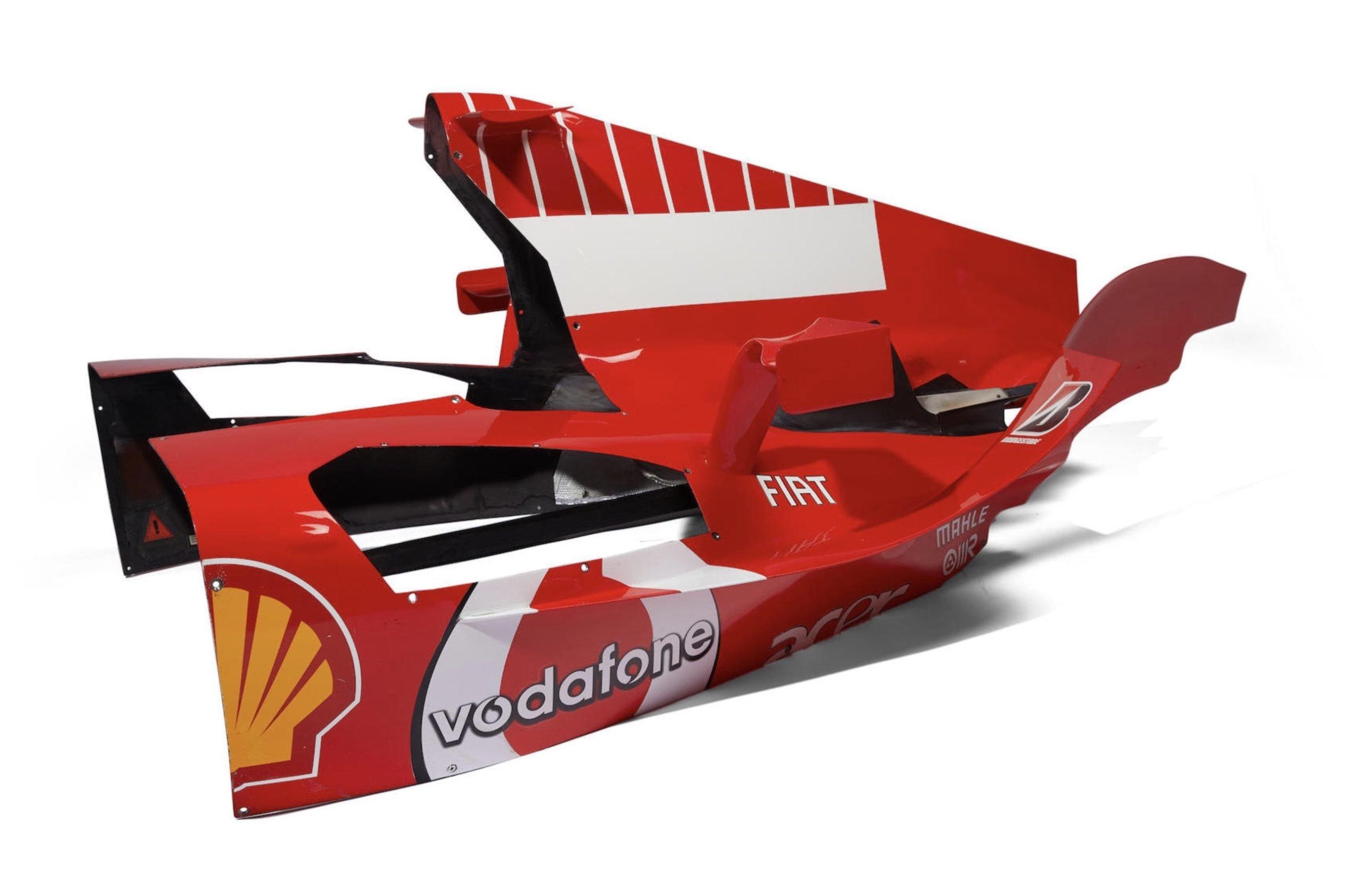For Sale Michael Schumacher S Ferrari F2004 Engine Cover Est 1 500 And 2 500 Usd