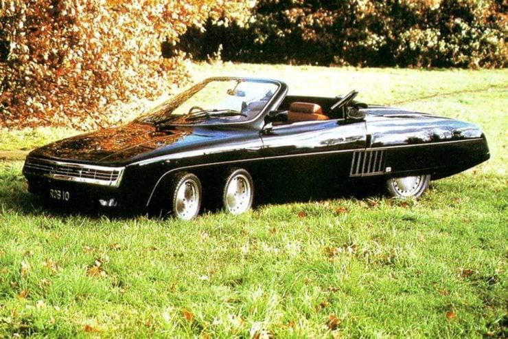 Panther 6 car
