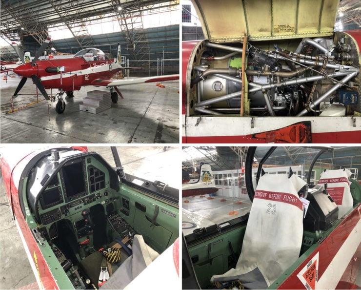 Pilatus PC-9 Collage