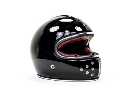Ruby Castel St Germain Helmet