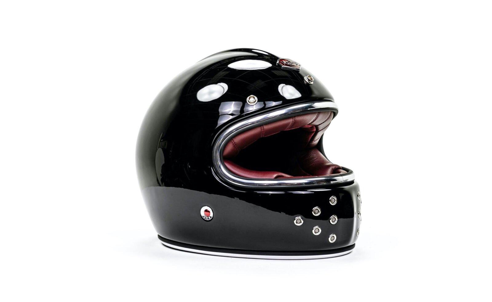 Ruby Castel St Germain Helmet