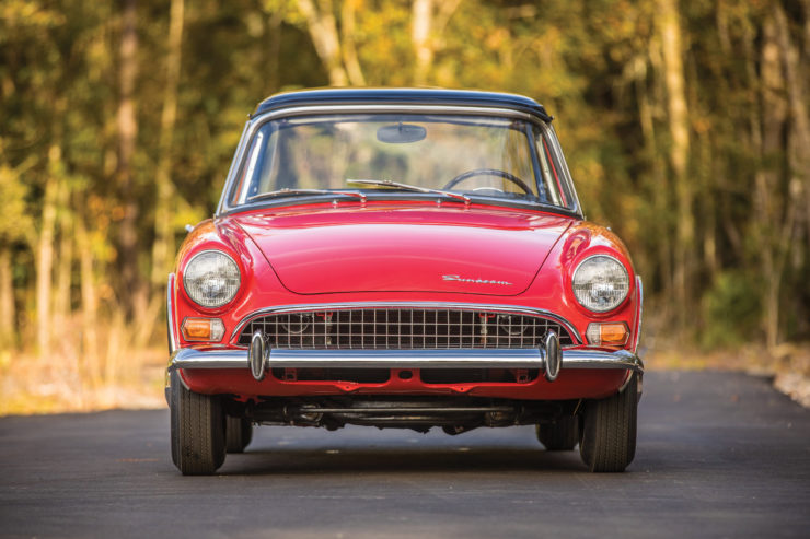 Sunbeam Tiger Front
