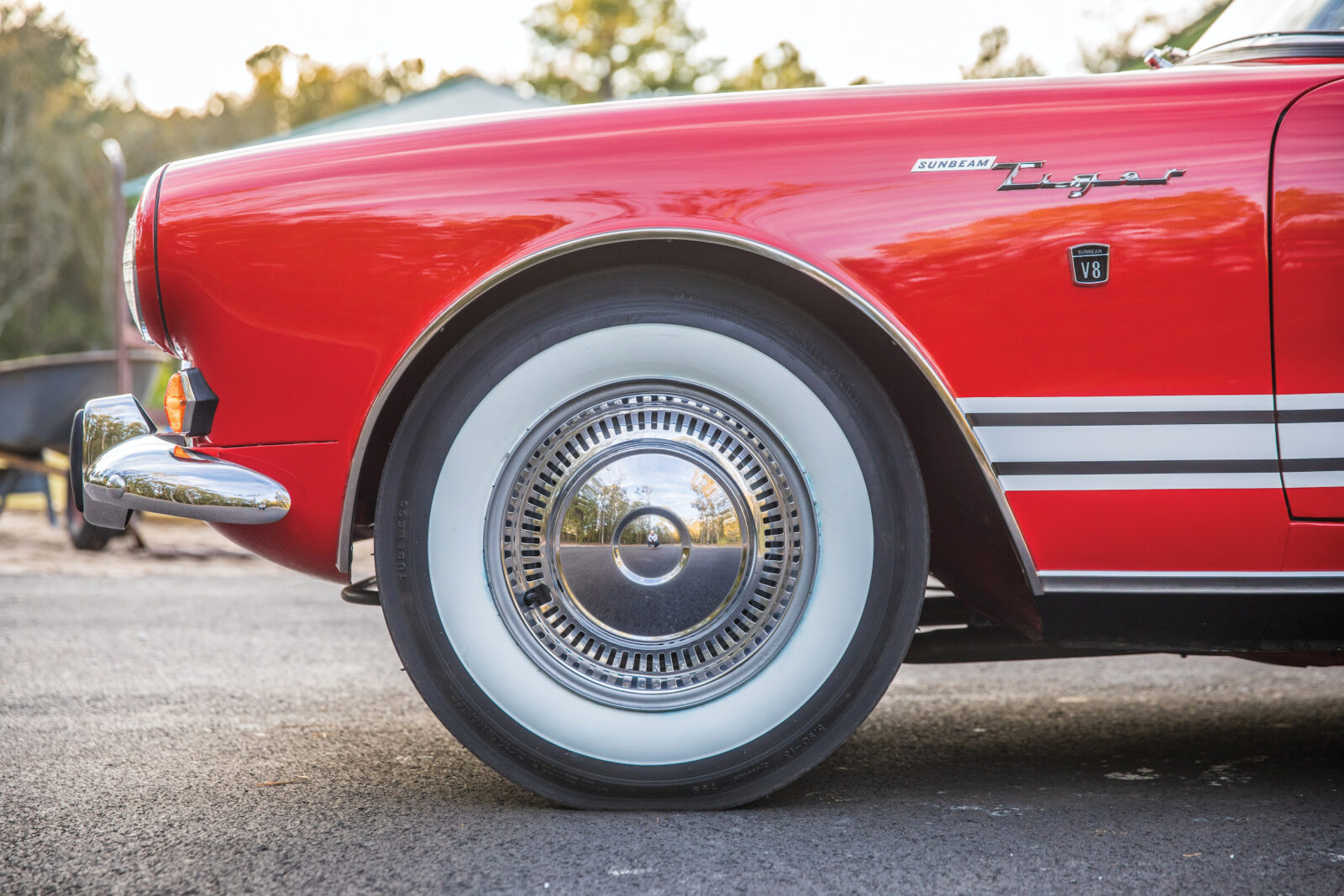 Sunbeam Tiger Front Wheel