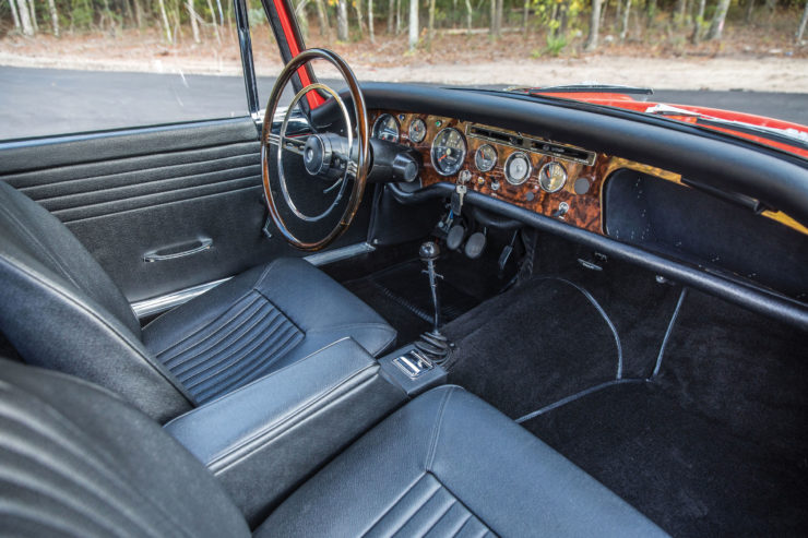 Sunbeam Tiger Interior 2