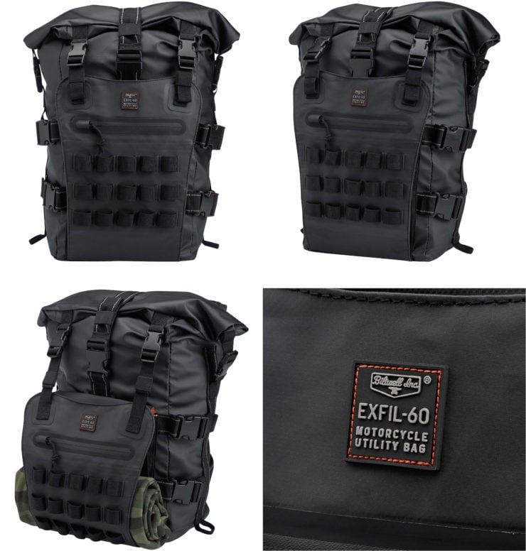 The Biltwell EXFIL-60 Bag - Motorcycle Utility Bag 1