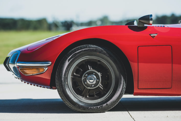 Toyota 2000GT Front Wheel