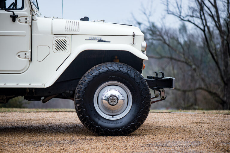 A Toyota FJ45 Land Cruiser With A 345 hp Corvette 5.7 Litre Ram Jet V8